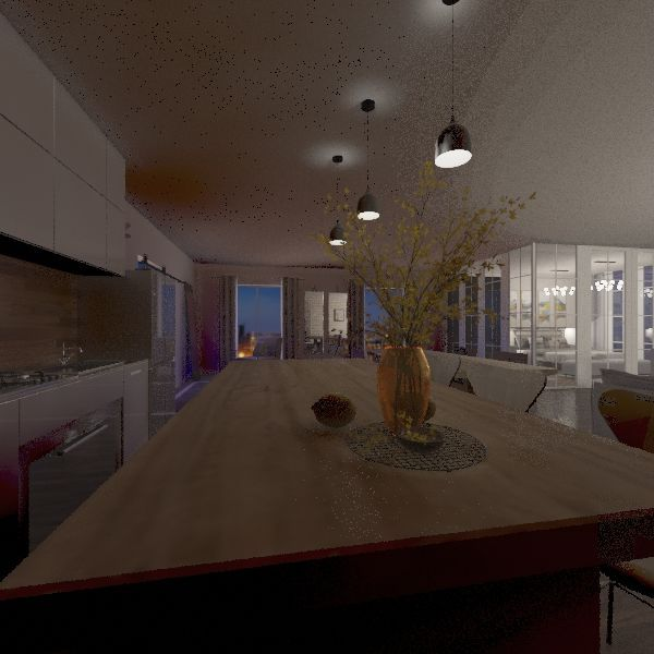 open Interior Design Render