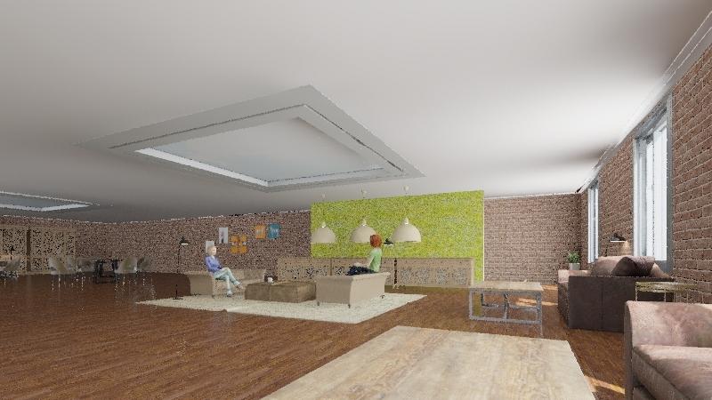 drinks. Interior Design Render