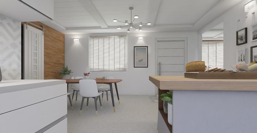 Home Renovation Interior Design Render