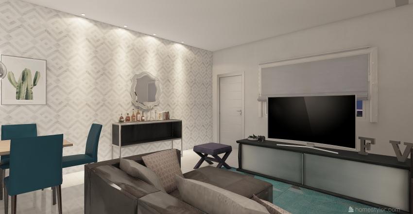 Meu loft Interior Design Render