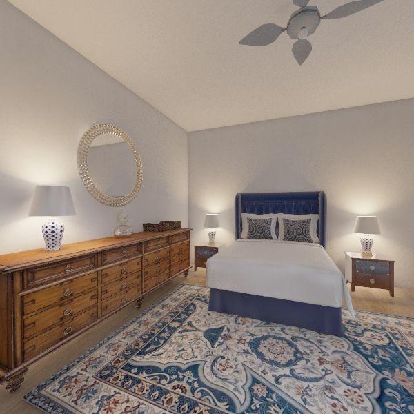 Dormitorio 2ª Interior Design Render