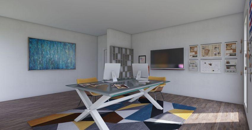 interiores sala creativa virgil abloh Interior Design Render