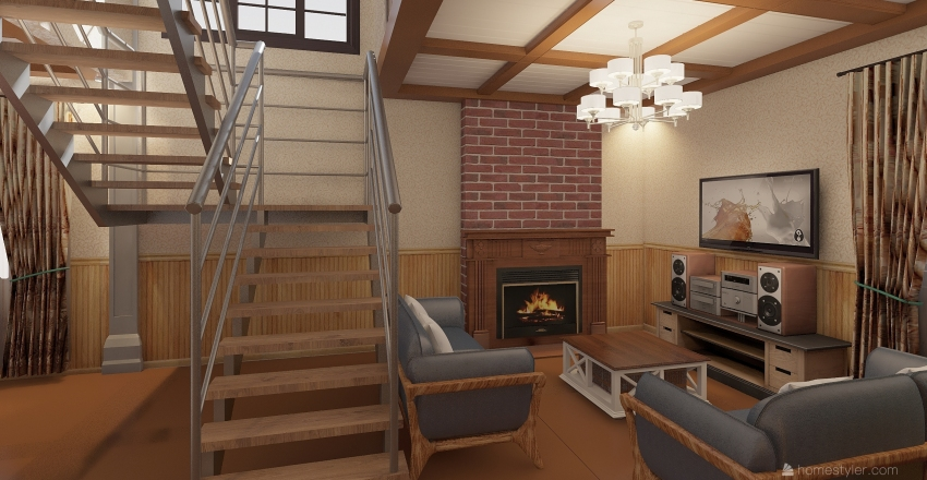 Dream House 1 Interior Design Render