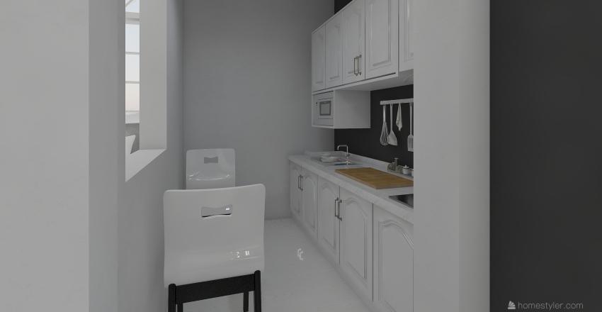 apartment 6 Interior Design Render