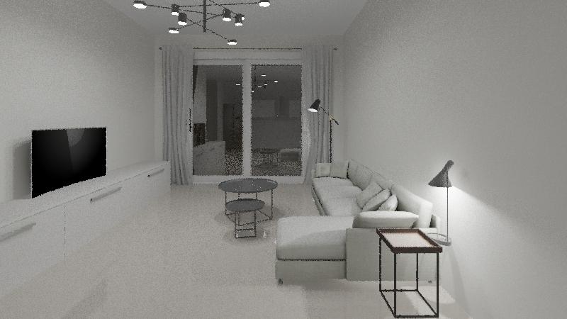 Турецкая квартира Interior Design Render