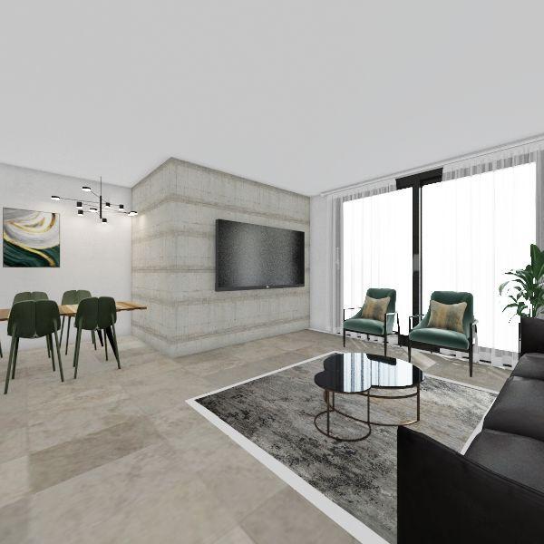 כלניות Interior Design Render