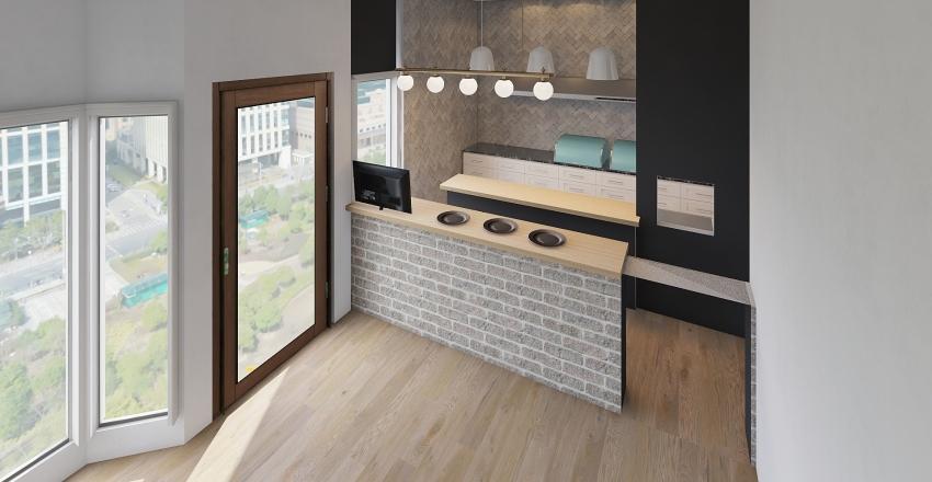 gastro stacja nowa Interior Design Render