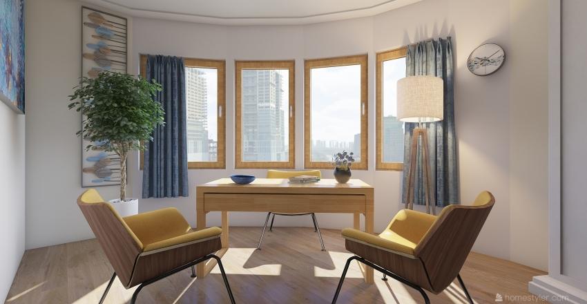 stanza pot Interior Design Render