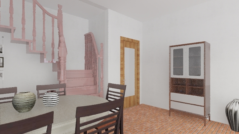 casa da ju Interior Design Render