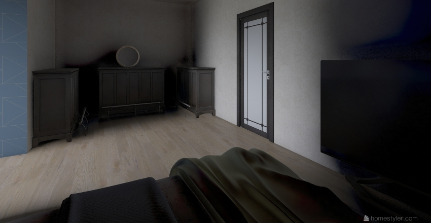 Tj great house Interior Design Render
