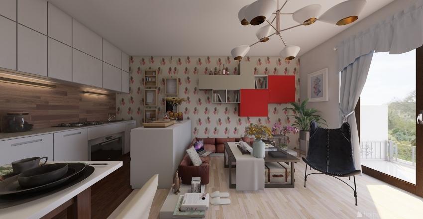 Marietta Göncöl-Fiastyúk Interior Design Render