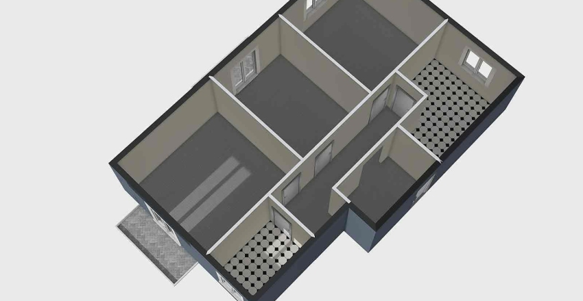 VIA MALTA VANCHERI 76 METRI Interior Design Render