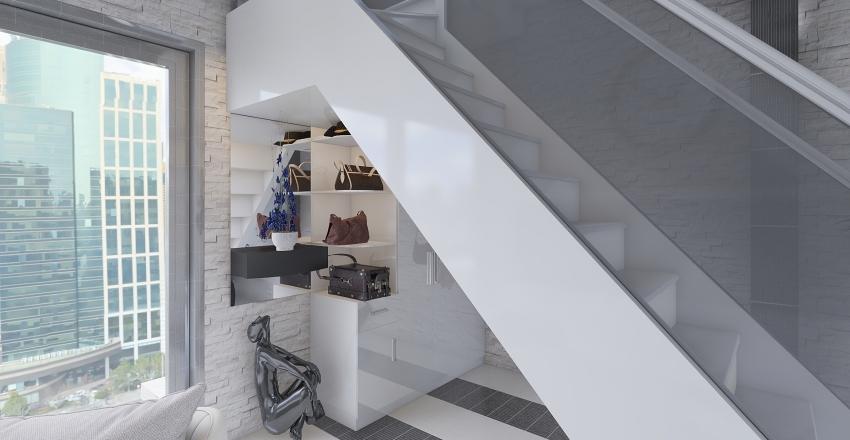 casetta rustica moderna Interior Design Render