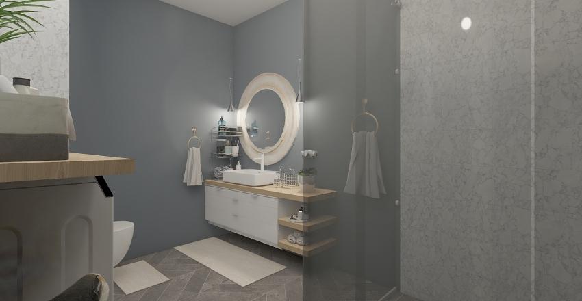 Small appartment in Milano Interior Design Render