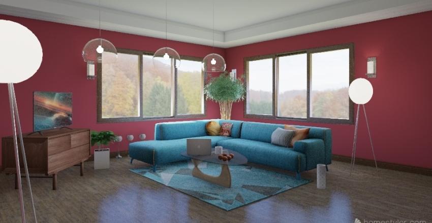 Living II Interior Design Render