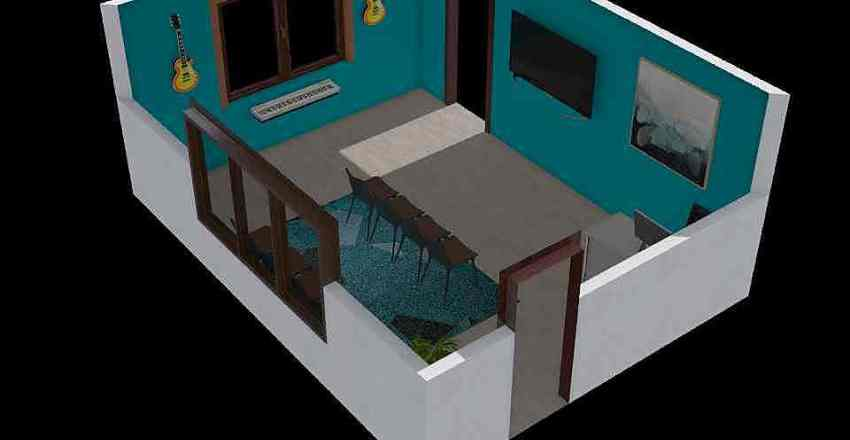 Andres Ayala 11A1 Interior Design Render