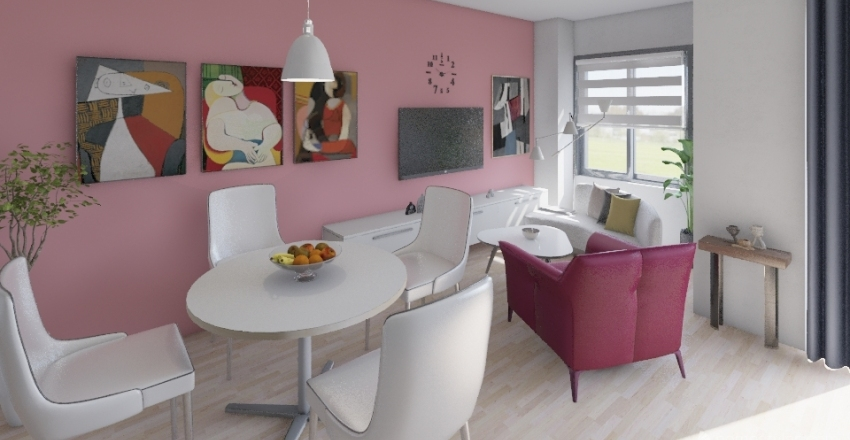 Andrej stan Interior Design Render