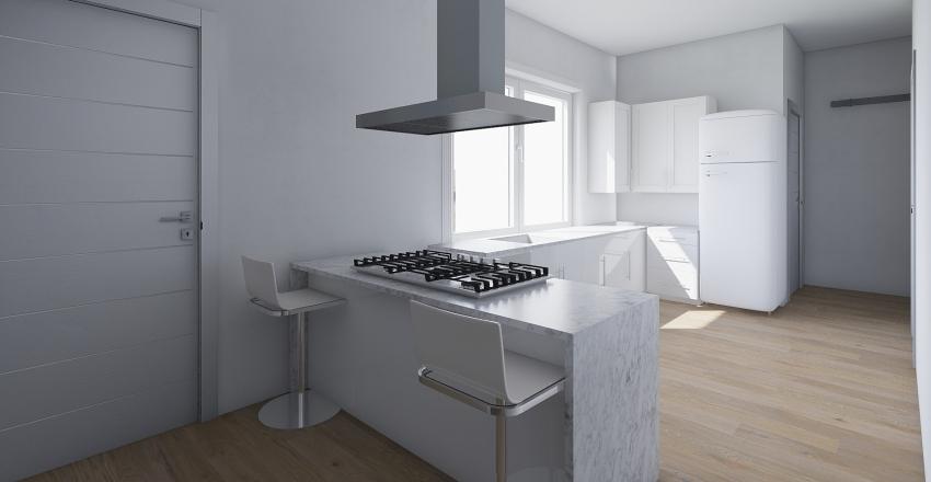 Enrique Granados Interior Design Render