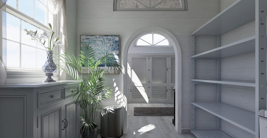 FRENCH COUNTRY COTTAGE Interior Design Render
