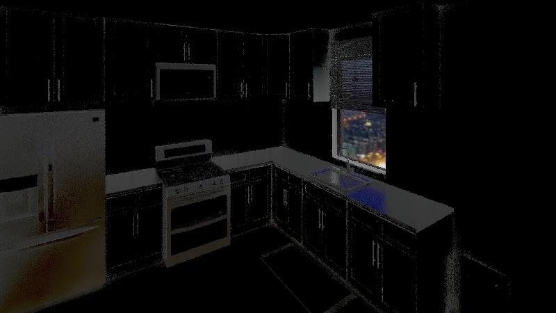Home - Kitchen Interior Design Render