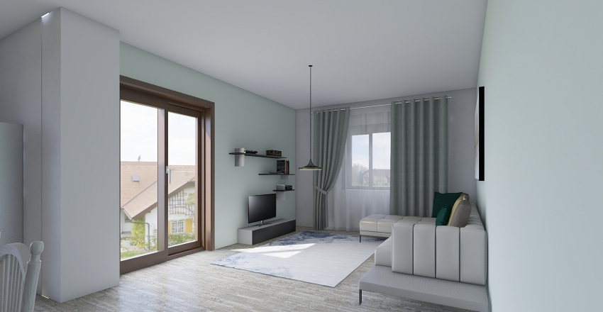 PARISI Interior Design Render
