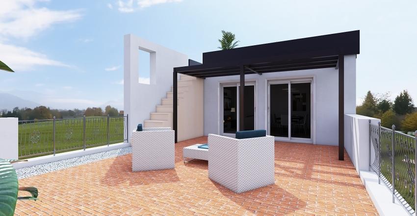 Negri_mansarda Interior Design Render