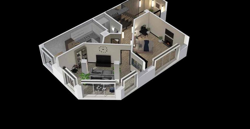 проект №2 прихожая Interior Design Render