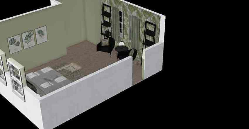 mclachlin bedroom Interior Design Render