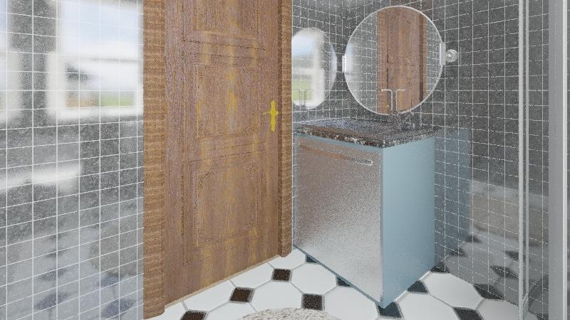 Basic apartment Interior Design Render