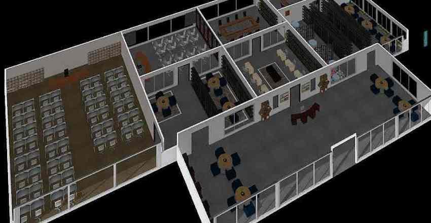 First Floor (F1) Interior Design Render