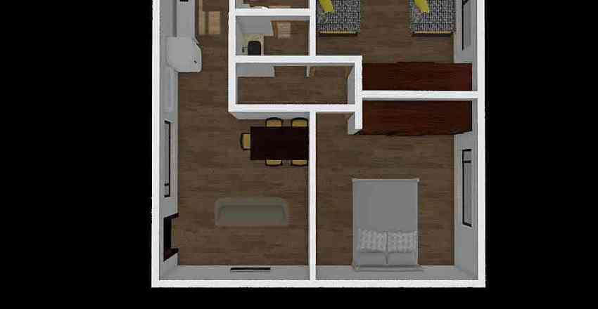 Minima amoblado Interior Design Render