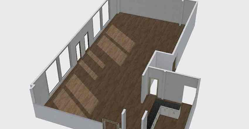 New Office Space Interior Design Render