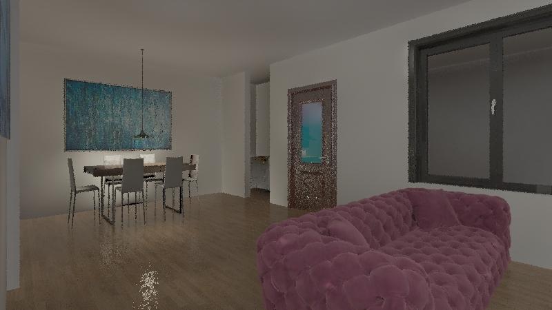 cuarto 2.0 Interior Design Render