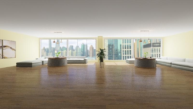 libarary Interior Design Render