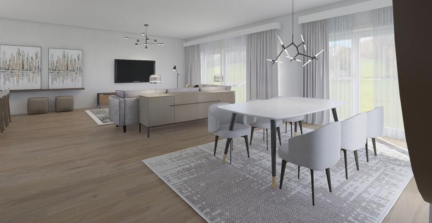 Claud living room  Interior Design Render