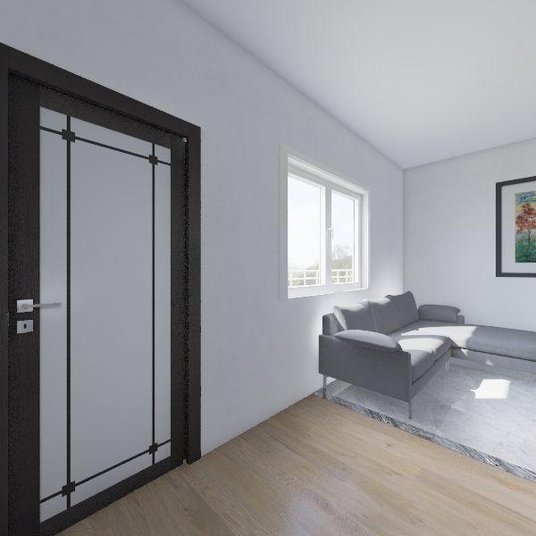 casa projeto 1 Interior Design Render