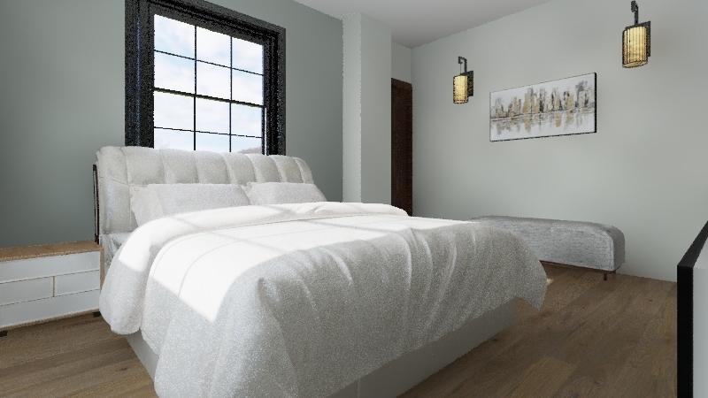 Bed 3 Interior Design Render