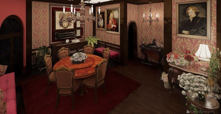 Mon chateau, La Superbe maison de Kamy et Ernes! Interior Design Render