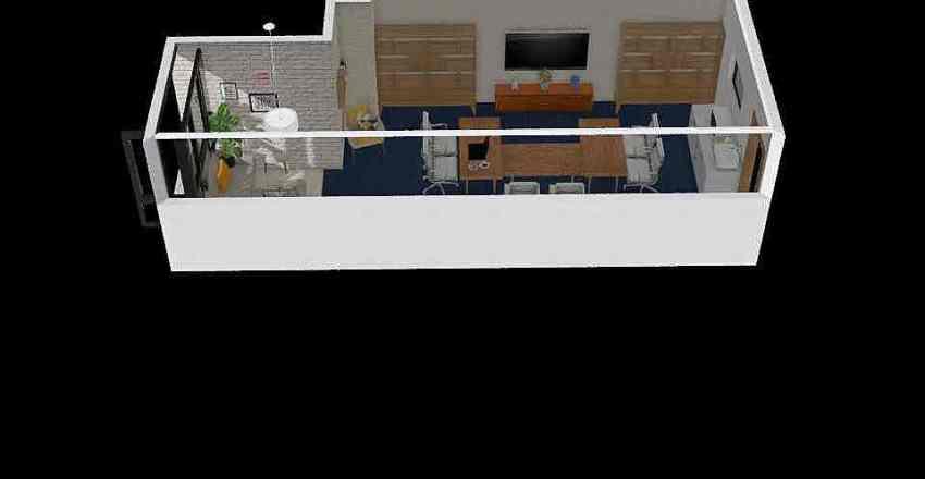 Task Force Office-IKEA Interior Design Render