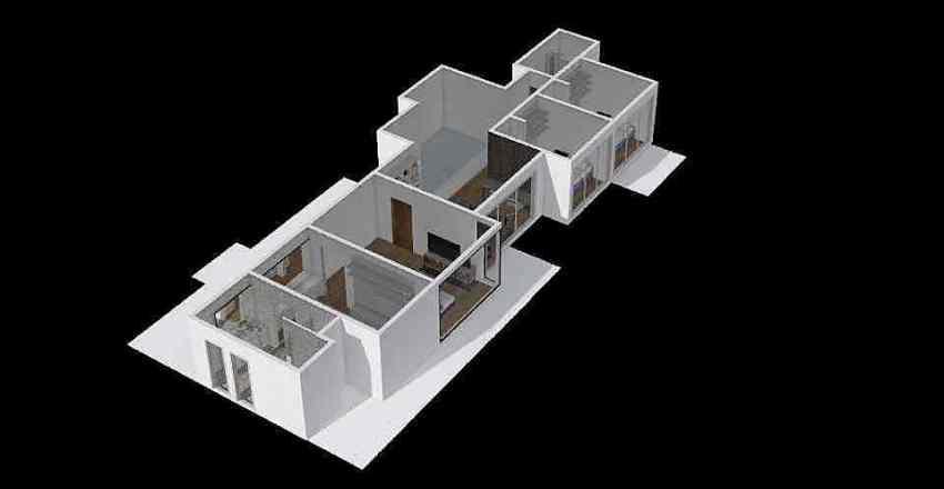 vargas 2do piso Interior Design Render