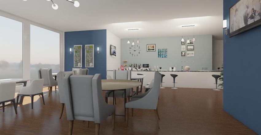 RESTAU Interior Design Render