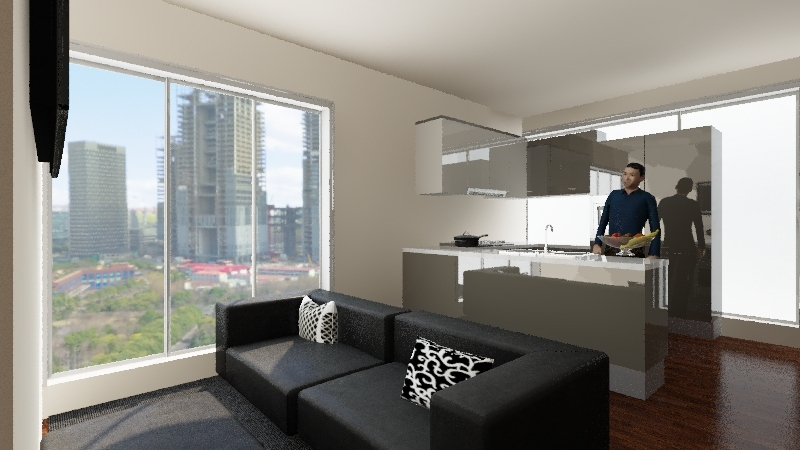 new big house Interior Design Render