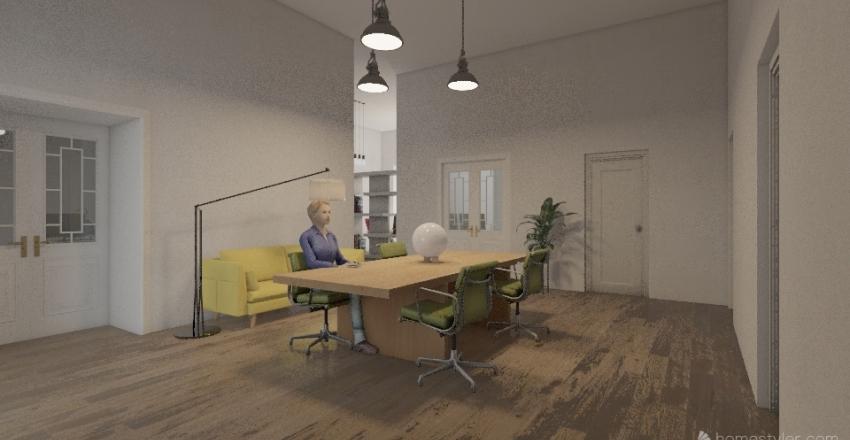 Wiejska Interior Design Render