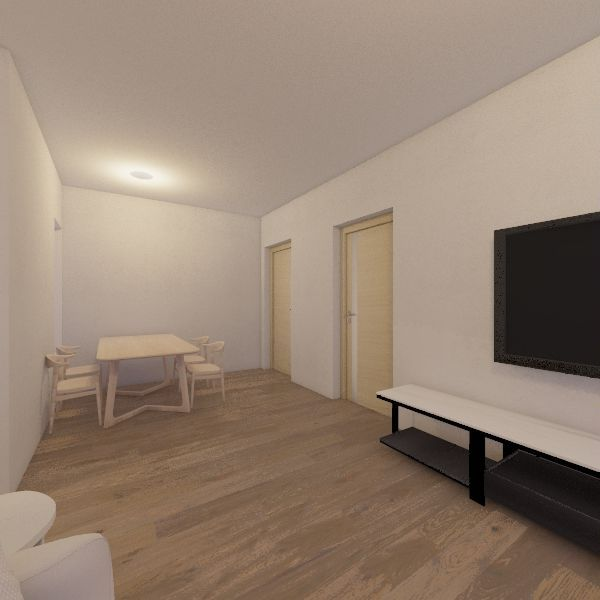 Plan A17 Interior Design Render