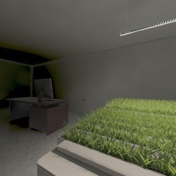 aquaponics lab Interior Design Render