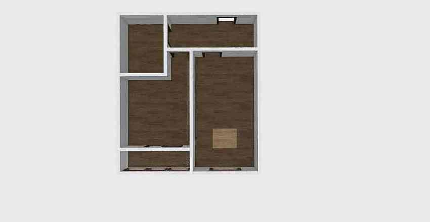 1-комн_0349 Interior Design Render