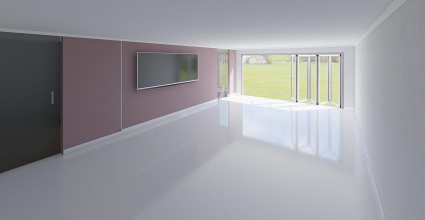 beedroom mauve Interior Design Render