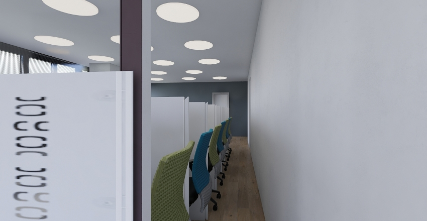 CALL CENTER Interior Design Render