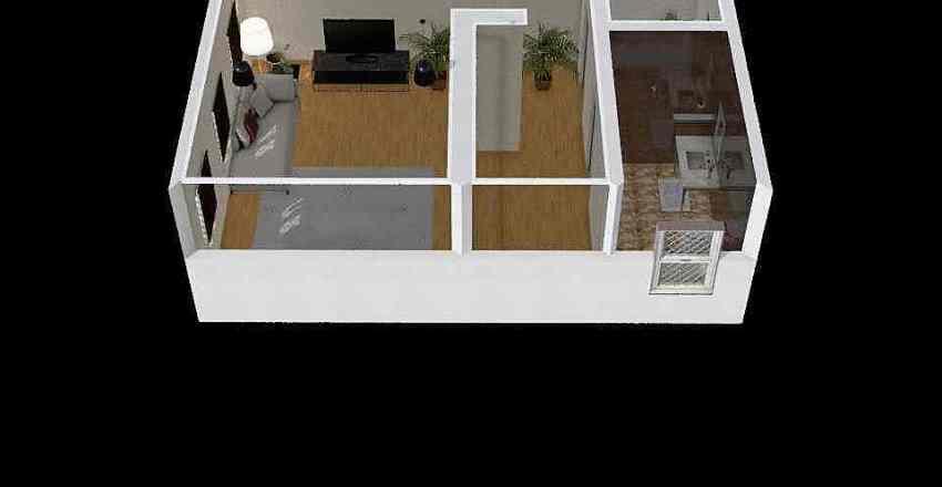 What did I create Interior Design Render