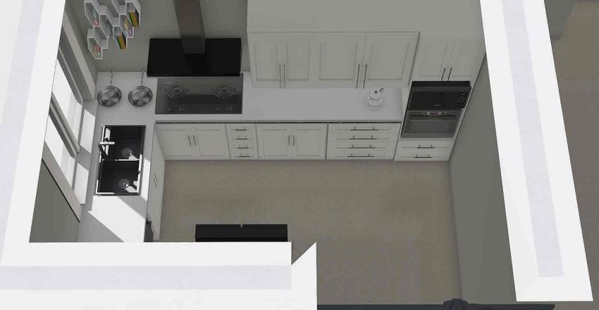 Avenham GF Extension Interior Design Render
